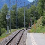 Schweizer-Eisenbahnen Bahnhof Fiesch Feriendorf