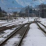 Schweizer-Eisenbahnen Bahnhof Glarus