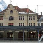 Schweizer-Eisenbahnen - Bahnhof Glarus