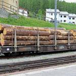Schweizer-Eisenbahnen RhB Güterwagen Sp-w - 8271