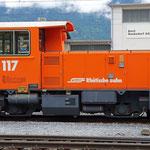Schweizer-Eisenbahnen - Tm 2/2 * 117