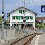 Schweizer-Eisenbahnen - Bahnhof Boniswil