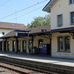 Schweizer-Eisenbahnen Bahnhof St. Margrethen