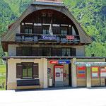 Schweizer-Eisenbahnen - Bahnhof Cavaglia