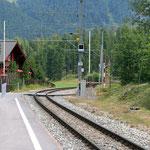 Schweizer-Eisenbahnen - Bahnhof Celerina Staz