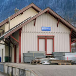 Schweizer-Eisenbahnen Bahnhof Rüti GL