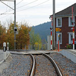 Schweizer-Eisenbahnen - Bahnhof Hebrig