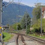 Schweizer-Eisenbahnen Bahnhof Malans