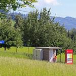 Schweizer-Eisenbahnen - Bahnhof Warmesberg