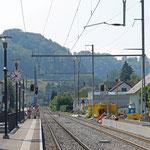 Schweizer-Eisenbahnen Bahnhof Kradolf