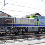 Schweizer-Eisenbahnen - Am 843 / 504