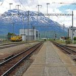 Schweizer-Eisenbahnen Bahnhof Bever