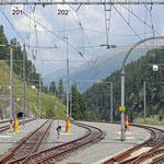Schweizer-Eisenbahnen Bahnhof St. Moritz