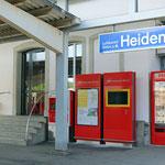 Schweizer-Eisenbahnen - Bahnhof Heiden