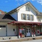 Schweizer-Eisenbahnen - Bahnhof Bühler