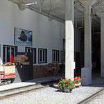 Schweizer-Eisenbahnen - Bahnhof Grütschalp
