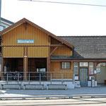 Schweizer-Eisenbahnen - Bahnhof Münchwilen TG