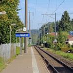 Schweizer-Eisenbahnen Bahnhof Winterthur Wallrüti