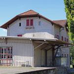 Schweizer-Eisenbahnen - Bahnhof Schlatt
