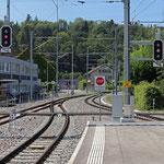 Schweizer-Eisenbahnen - Bahnhof Bremgarten West