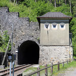 Schweizer-Eisenbahnen - Bahnhof Solis