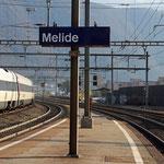 Schweizer-Eisenbahnen Bahnhof Melide