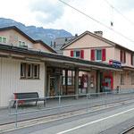 Schweizer-Eisenbahnen Bahnhof Celerina