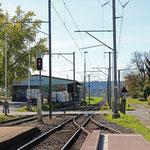 Schweizer-Eisenbahnen - Bahnhof Siegershausen
