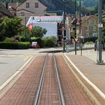 Schweizer-Eisenbahnen - Bahnhof Oberdorf BL