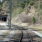 Schweizer-Eisenbahnen - Bahnhof Ftan Baraigla