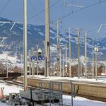 Schweizer-Eisenbahnen - Bahnhof Bad Ragaz