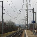 Schweizer-Eisenbahnen - Bahnhof Otelfingen Golfplatz