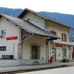 Schweizer-Eisenbahnen - Bahnhof Fiesch