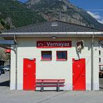 Schweizer-Eisenbahnen Bahnhof Vernayaz