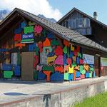 Schweizer-Eisenbahnen - Bahnhof Oberwil im Simmental