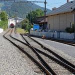 Schweizer-Eisenbahnen - Bahnhof Balsthal