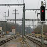 Schweizer-Eisenbahnen Bahnhof Regensdorf-Watt