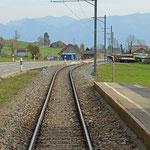 Schweizer-Eisenbahnen - Bahnhof Schachen (Gais)