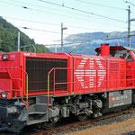Schweizer-Eisenbahnen - Am 843 / 024