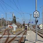 Schweizer-Eisenbahnen - Bahnhof Beinwil am See