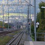 Schweizer-Eisenbahnen - Bahnhof Chur Wiesental