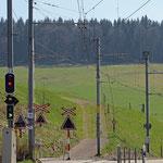 Schweizer-Eisenbahnen - Bahnhof Schwarzer Bären