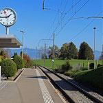 Schweizer-Eisenbahnen - Bahnhof Grüenfeld