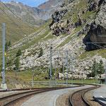 Schweizer-Eisenbahnen Bahnhof Bernina Lagalb