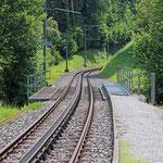 Schweizer-Eisenbahnen - Bahnhof Wartensee