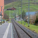 Schweizer-Eisenbahnen - Bahnhof Ennenda