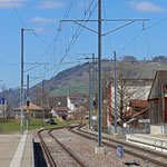 Schweizer-Eisenbahnen - Bahnhof Nesslau-Neu St. Johann