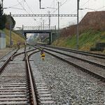 Schweizer-Eisenbahnen - Bahnhof Oberaach (ehemaliger Bahnhof)