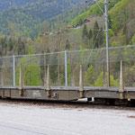 Schweizer-Eisenbahnen RhB Güterwagen Sp-w - 8295