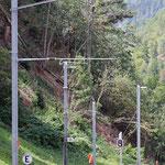 Schweizer-Eisenbahnen Bahnhof Betten Talstation